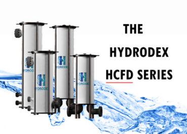 Hydrodex HCFD Series industrial cartridge filter housing