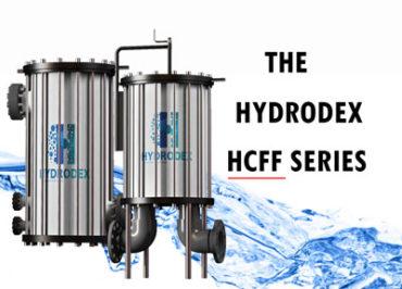 Hydrodex HCFF Series industrial cartridge filter housing