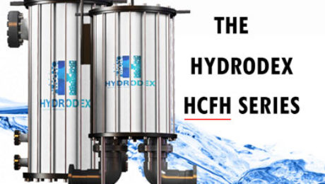 Hydrodex HCFH Series industrial cartridge filter housing